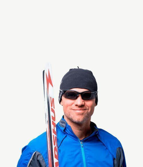 Ciclismo/esquiar